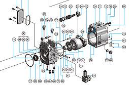 Genuine Kawasaki Hydraulic Pump Parts - Hycon Australia